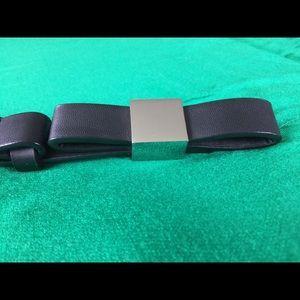 NY&C Flat Bow Adjustable Belt S/M